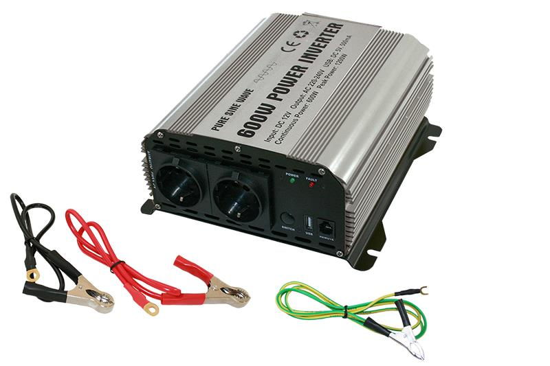 PURE SINUS INVERTER 600W